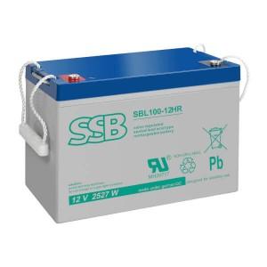 SSB SBL100-12HR Akku / Batterie - 12V 2527W AGM High Rate
