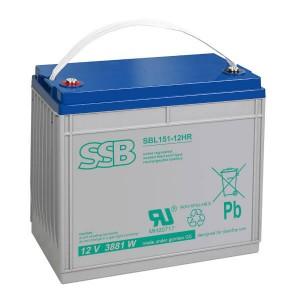 SSB SBL151-12HR Akku / Batterie - 12V 3881W AGM High Rate