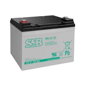 SSB SBL33-12i Akku / Batterie - 12V 33Ah AGM Longlife