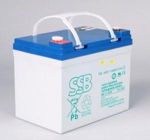 SSB SBL 41-12HR Akku / Batterie - 12V 41Ah AGM High Rate