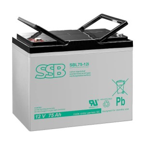 SSB SBL75-12i(sh) Akku / Batterie - 12V 75Ah AGM Longlife