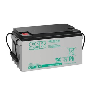 SSB SBL80-12i Akku / Batterie - 12V 80Ah AGM Longlife