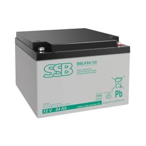 SSB SBLV24-12i Akku / Batterie - 12V 24Ah AGM VdS