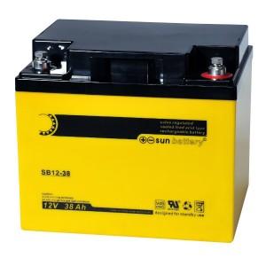 Sun Battery SB12-38 12V 38Ah Bleiakku
