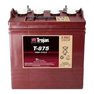 Trojan T-875 8V 170Ah Deep Cycle Nassbatterie