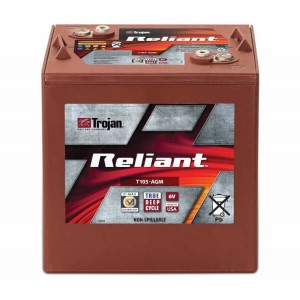 Trojan Reliant T105-AGM 6V 217Ah Deep-Cycle Batterie