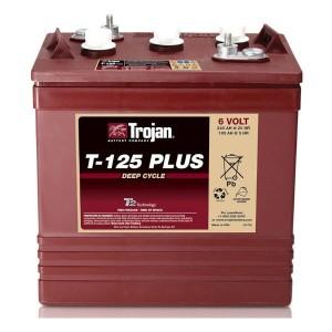 Trojan T-125 PLUS ELPT 6V 240Ah  Deep Cycle Nassbatterie