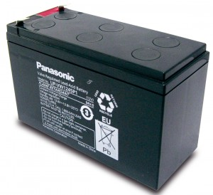 Panasonic UP-VW1245P1 12V 7,8Ah Blei-Akku / AGM Batterie Hochstrom