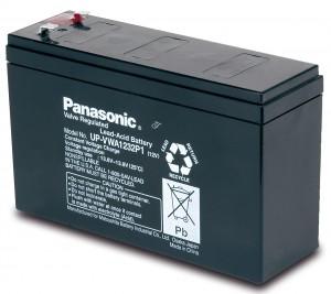 Panasonic UP-VWA1232P2 12V 4,5Ah Blei-Akku / AGM Batterie Hochstrom