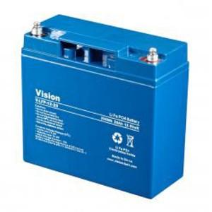VISION LFP1220 LiFePo4  Lithium Akku - 12V 20Ah