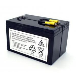 USV Ersatzakkuset für APC-RBC3 vormontiert mit Kabel und Stecker
