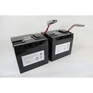 Batterie-Satz für APC RBC55 komplett vorkonfektioniert mit Kabel und Stecker