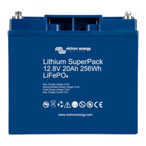 Victron Energy Lithium SuperPack 12.8V 20Ah LiFePO4 Batterie