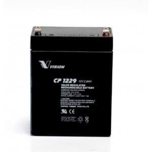 Vision CP1229 12V 2,9Ah Blei-Akku / AGM Batterie