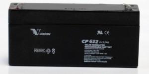 Vision CP632 6V 3,2Ah Blei-Akku / AGM Batterie