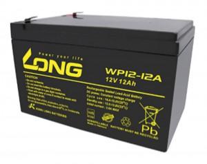 Kung Long WP12-12A 12V 12Ah 6,3mm Blei-Akku / AGM Batterie mit VdS-Zulassung