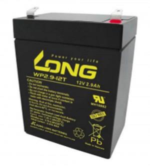 Kung Long WP2.9-12T 12V 2,9Ah Blei-Akku / AGM Batterie