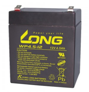 Kung Long WP4.5-12 12V 4,5Ah Blei-Akku / AGM Batterie