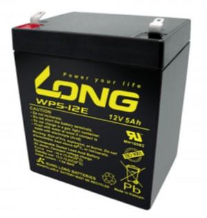 Kung Long WP5-12E 12V 5Ah Blei-Akku / AGM Batterie Zyklenfest