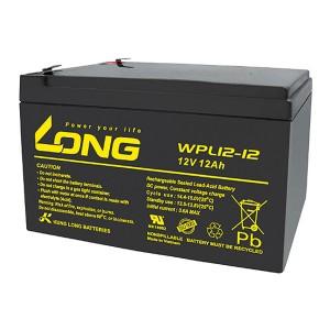 Kung Long WPL12-12N 12V 12Ah AGM Bleiakku Longlife
