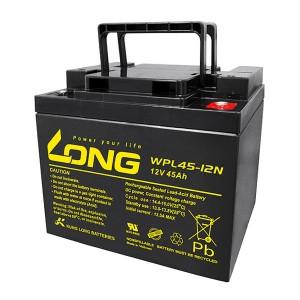 Kung Long WPL45-12N 12V 45Ah AGM Bleiakku Longlife