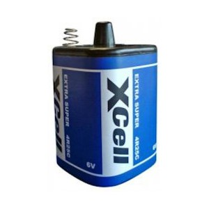 Xcell 4R25C 6V Block Zink-Kohle Batterie 9500mAh