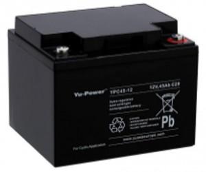 Yuasa YPC45-12 12V 46,8Ah Blei-Akku / AGM Batterie Zyklentyp