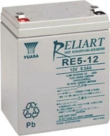 Yuasa RE5-12 12V 5Ah Blei-Akku / AGM Batterie