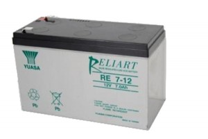 Yuasa RE7-12 12V 7Ah Blei-Akku / AGM Batterie Faston 187 Anschluss