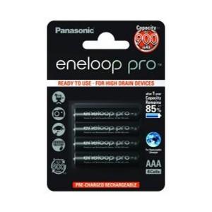 Panasonic Eneloop Pro 4HCCE NiMh Mikro AAA 1,2V / 900mAh Akku 4er Blister