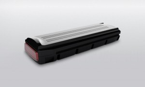 E-Bike Gepäckträger-Akku kompatibel zum 36V Gazelle Innergy Antrieb 11,4Ah