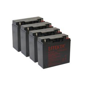 Akkusatz für Elektro Kinderquad Panther 1000 Watt - 4 x 12V / 20Ah AGM Batterien