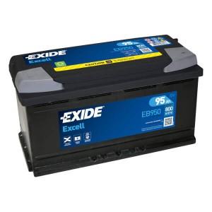 Exide Excell EB950 Batterie - 12V 95Ah