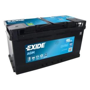 Exide Start-Stop EK950 Batterie - 12V 95Ah