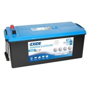 Exide Dual AGM EP1200 Batterie - 12V 140Ah