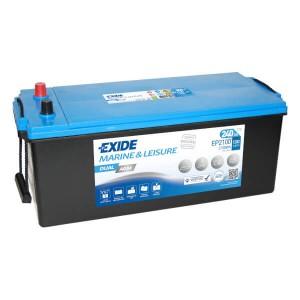Exide Dual AGM EP2100 Batterie - 12V 240Ah