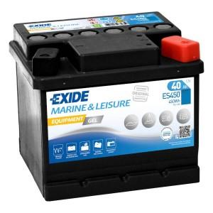 Exide Equipment Gel ES450 Batterie - 12V 40Ah