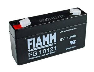 Fiamm FG10121 6V 1,2Ah Blei-Akku / AGM Batterie