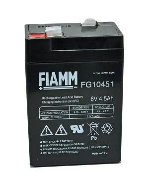 Fiamm FG10451 6V 4,5Ah Blei-Akku / AGM Batterie