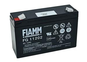 Fiamm FG11202 6V 12Ah Blei-Akku / AGM Batterie