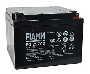Fiamm FG22703 12V 27Ah Blei-Akku / AGM Batterie
