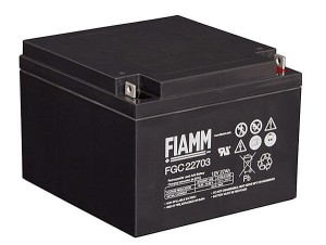 Fiamm FGC22703 12V 27Ah Blei-Akku / AGM Batterie Zyklenfest