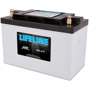 Lifeline GPL-31T Deep Cycle Batterie - 12V 105Ah