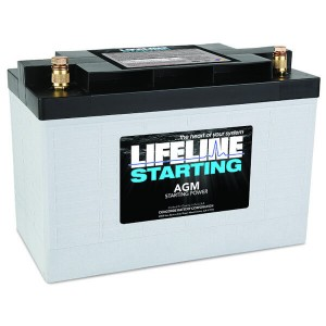 Lifeline GPL-3100T Deep Cycle AGM Batterie - 12V 100Ah