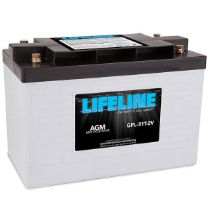 Lifeline GPL-31T-2V Deep Cycle Batterie - 2V 630Ah