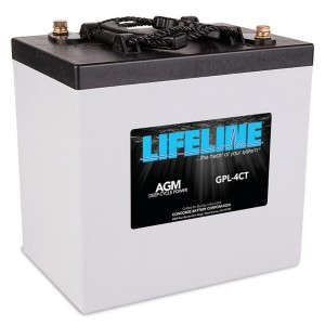 Lifeline GPL-4CT Deep Cycle Batterie - 6V 220Ah
