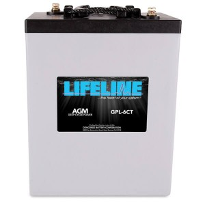 Lifeline GPL-6CT Deep Cycle Batterie - 2V 900Ah