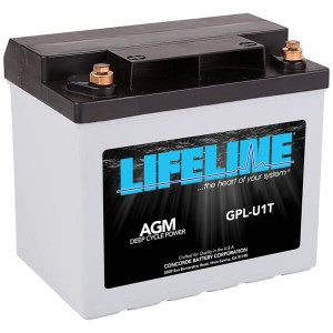 Lifeline GPL-U1T Deep Cycle Batterie - 12V 33Ah