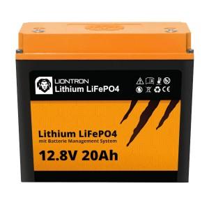 LIONTRON LiFePO4 12,8V 20Ah Lithium Batterie
