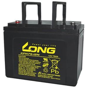 Kung Long KPH75-12N 12V 75Ah Akku AGM Longlife